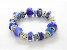 View the Reflection Beads Sodalite Blue Bracelet on YouTube for 360-degree views of the collection and individual beads.
