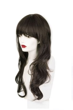Ways To Make Hair Straight Medium Hair Cuts, Medium Hair Styles, Natural Hair Styles, Long Hair Styles, Hairstyles Haircuts, Straight Hairstyles, Forever Young Wigs, Wigs With Bangs, Soft Curls