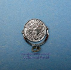 Vintage Sterling Silver New York World s Fair 1964-1965 Spinner Charm