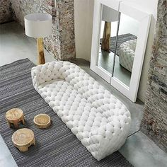 Chester Moon Sofa from Baxter, designed by Paola Navone