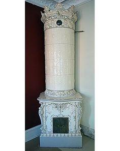 Antique Swedish tiled stoves