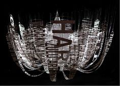 Swirls of Liberated Words Become Dancing Sculptures - My Modern Metropolis