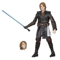 Highly articulated figure looks like Anakin Skywalker after he turned to the dark side Figure is part of the first-ever 6-inch series of Sta...