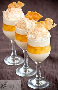 Pining for the sun with Pineapple Jelly pannacotta ~ Kitchen Wench