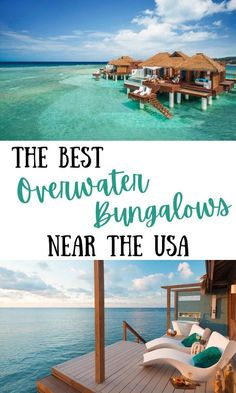 The Best Overwater Bungalows Near The USA Belize Resorts, All Inclusive Resorts, Caribbean Resort, Royal Caribbean, Sandals South Coast, Beach Trip, Beach Travel, Family Friendly Resorts, Beach Cabana