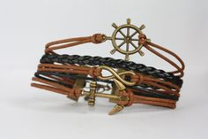 TRANQUILITY Handmade Ship Wheel Infinity by ilovecheesygrits, $9.95