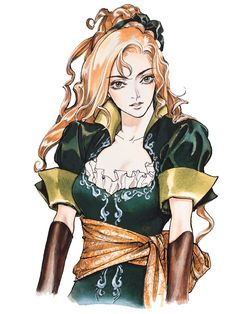 Maria.  Castlevania: Symphony of the Night,