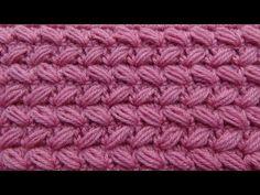 Punto Reversible Tejido a crochet N° 28 paso a paso para Suéteres y Bufandas - YouTube