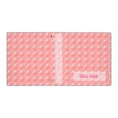 Baby Pink Vinyl Binder. Over 600 products in light blue and pink square designs for your baby. You can find the folder here: http://www.zazzle.com/marianaewapattern/gifts?cg=196436766209453623&sr=250686029089167129&ch=marianaewapattern&rf=238857619179039626