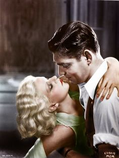 Jean Harlow & Clark Gable by klimbims, via Flickr
