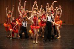 Dubbo Ballet Studio, finalists in Sydney Eisteddfod's Open Jazz Dance Group event.