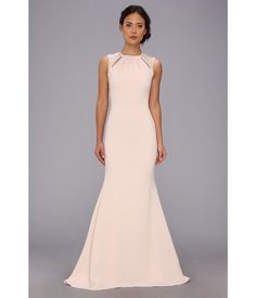 Make people remember when you show up with the Keyhole Gown from Badgley Mischka®.. Sophisticated ...