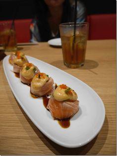 Grilled salmon mentai mayo recipes