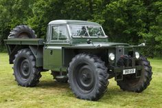 Roadless Traction Land Rover