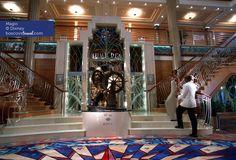Disney Cruise Line Magic Lobby #Travel #Cruise #Disney #Magic