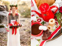 Inspiring Swedish Christmas Wedding Theme | Weddingomania
