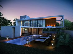 Tipo: ResidenciaRNArquiteto: Vitor PessoaLocalização: Residencial Ponta Negra 1- Manaus / AmazonasÁrea: 330.0 m²Ano: 2015__________________________Project: RNHouse Type: ResidentialArchitect: Vitor...