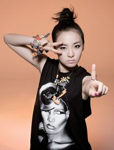 Sandra Park of 2NE1