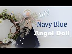 Christmas Angels, Christmas Crafts, Blue Angels, Fairy Dolls, Tree Toppers, Craft Stores, Cute Dogs, Create, Macrame