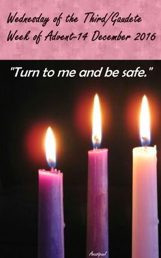 """Thursday of the Fourth Week of Advent – 22 December 2016 """"Lord, open my lips, and my mouth shall declare your praise."""" Daily Meditation: And Mary said: """"My soul proclaims the greatness of the Lord; my spirit rejoices in God, my saviour."""" Mary's. Advent Catholic, Catholic Art, Irish Catholic, Catholic Crafts, Third Sunday Of Advent, Saint Feast Days, Main Image, Seasonal Image, Advent Candles"""