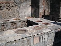 Pompei : Fast Food in Pompeii