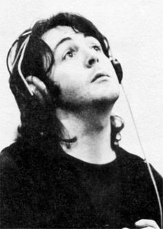 Paul In Abbey Road Studios 1969