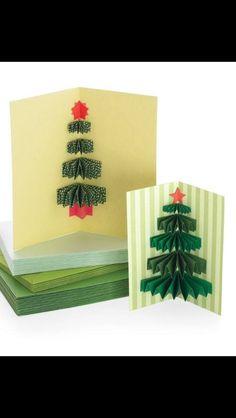 Handmade Christmas Craft - Expanding Christmas Card