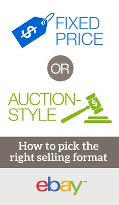 One of the most common questions new eBay sellers ask is whether to list their item using a fixed price or auction-style format. Well, debate no more. This simple eBay guide answers that age-old question. Just remember to share it with your newbie seller family and friends. Bookmark this page!