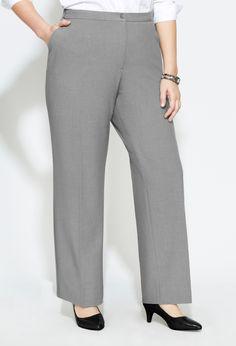 942b944af7d Plus Size Petite Flexi-Fit Waistband Pant