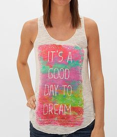 Eyeshadow It's A Good Day To Dream Tank Top at Buckle.com