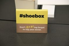 People I Want to Punch in the Throat: I'm Hallmark Approved. Sorta. #shoebox