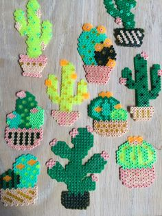 DIY coasters made of Hama ironing beads. Who didn't make something with ironing beads when you were youngInformations About DIY coasters made of Hama ironing beads. Melty Bead Patterns, Pearler Bead Patterns, Perler Patterns, Beading Patterns, Melty Beads Ideas, Perler Bead Templates, Diy Perler Beads, Perler Bead Art, Pearler Beads