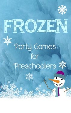 Planning a party for your little one soon? You'll need plenty of activities to keep them busy. Check out our favorite Frozen Party Games For Preschoolers!