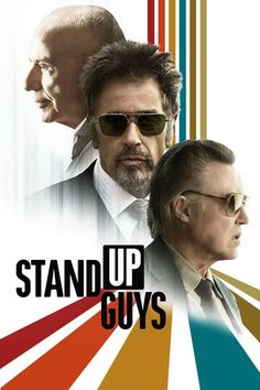 Stand Up Guys (2012) | http://www.getgrandmovies.top/movies/20775-stand-up-guys | After serving 28 years in prison for accidentally killing the son of a crime boss, newly paroled gangster Val (Al Pacino) reunites with his former partners in crime, Doc (Christopher Walken) and Hirsch (Alan Arkin), for a night on the town. As the three men revisit old haunts, reflect on their glory days and try to make up for lost time, one wrestles with a terrible quandary: Doc has orders to kill Val, and…
