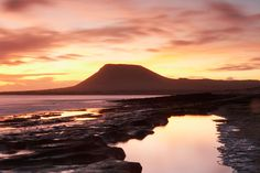 Silent shores: La Graciosa island at sunset (Alamy) Spanish Islands, Family Roots, Free Beach, Azores, Sandy Beaches, Costa, Spain, Wanderlust, Mountains