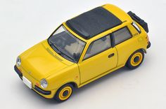 Tomica Limited Vintage Era of Japanese cars 06 Be-1 (yellow) with bag