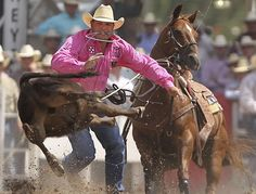 Cody Ohl Tie Down Roping