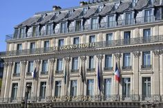 Writer Johnny Jets penned a terrific essay on the 8 Reasons to stay at the Paris - Le Grand InterContinental. Here's his photo of the exterior of the hotel.