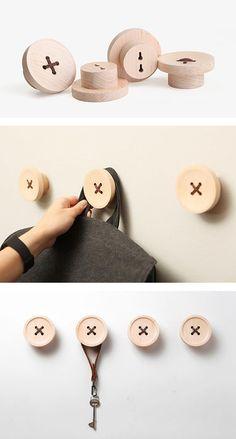 Pequeños detalles que decoran y aportan orden visual al hogar. Ph: www.iamthelab.com... Handmade Furniture - http://amzn.to/2iwpdj4