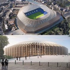 This is how Stamford Bridge could look in the future ! Real Soccer, Soccer Fans, Chelsea Football, Chelsea Fc, Football Is Life, Stamford Bridge, Fulham, West London, Places To Visit