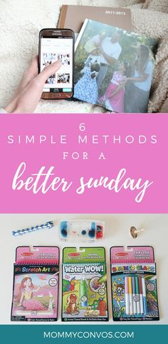 6 Simple Methods for a Better Sunday (as a mom to littles!) - Mommy Convos