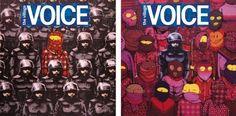 Banksy e Osgemeos fazem trabalho em parceria para capa de revista norte-americana