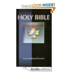 Holy Bible: Easy-to-Read Version. If reading the Bible seems daunting, start here.