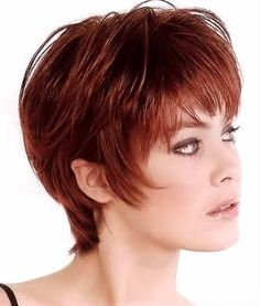 Short Shag Hairstyles for Women Over 50 | ... +Women+Over+40 | Choosing Perfect Short Hairstyles For Women Over 40