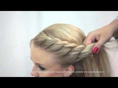 Мастер-класс «Техника плетения кос» - YouTube