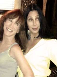 Kathy Griffin and Cher