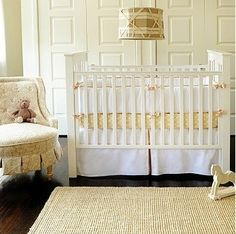 Yellow Nursery with existing color scheme.