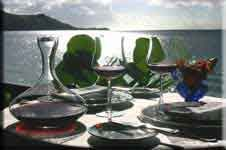 Grand Case restaurants in French Saint Martin: reportedly the best dining in the Caribbean.  It gets my vote!