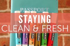 Gear and tips that help you stay feeling fresh and clean when traveling.