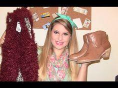 Oi meninas, tudo bom? Hoje vim mostrar as minhas comprinhas recentes de roupas, sapatos e acessórios para o outono/inverno. httpvh://www.youtube.com/watch?v=k-6-j3rJa8U&feature=youtu.be Participe aqui do sorteio da Karoll Doll Makeup e...
